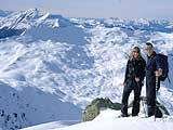 Snowshoeing in France